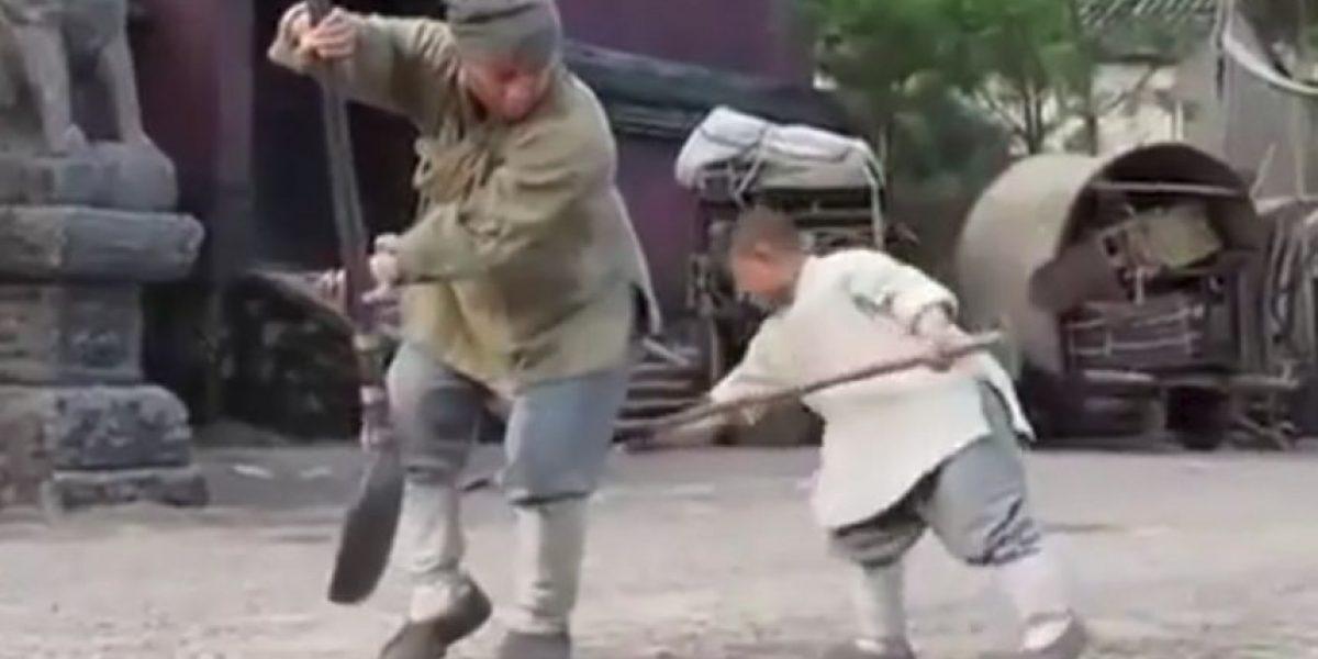 Video: Este niño enseña técnicas especiales a Jackie Chan