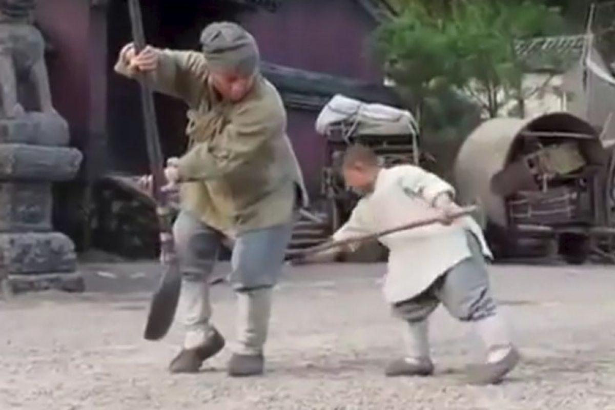 La técnica de Kung Fu Shaolin es una forma antigua de ejercicio de artes marciales. Foto:Vía Youtube/JackieChanFanClubIndia. Imagen Por: