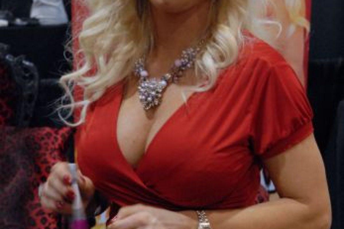 """Diamond Foxx es una actriz porno que siempre tiene papeles de """"MILF"""". Foto:vía Wikipedia. Imagen Por:"""