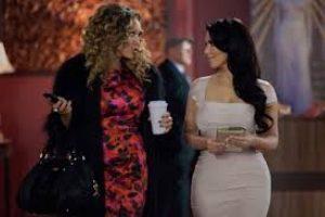 "En 2013, Kim Kardashian interpretó a ""Ava"" en la serie ""Temptation: Confessions of a Marriage Counselor"". Foto:IMDB. Imagen Por:"