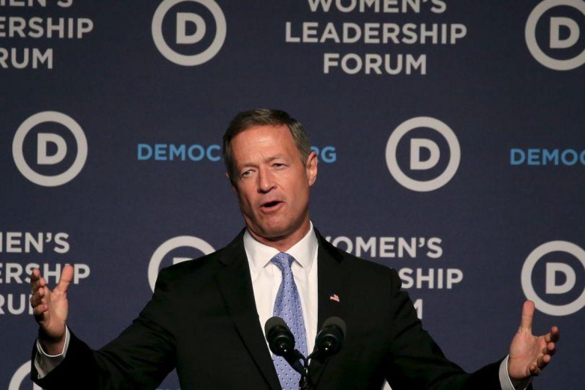 Y el gobernador de Maryland, Martin O'Malley. Foto:AFP. Imagen Por: