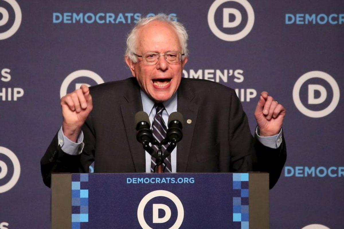 Al evento también asistieron los precandidatos a la presidencia como el senador Bernie Sanders . Foto:AFP. Imagen Por: