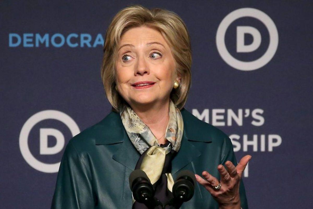 La exprimera dama Hillary Clinton. Foto:AFP. Imagen Por: