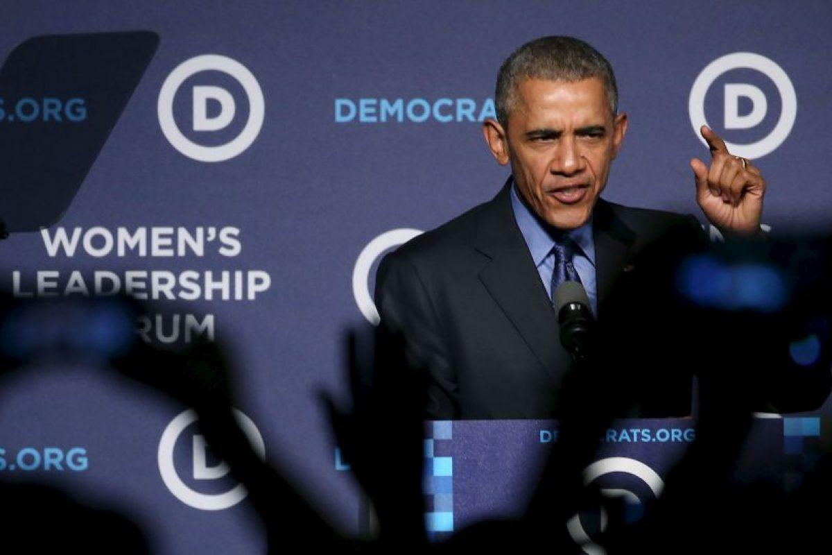 Además de recalcar que los miembros del Partido Demócrata (al que pertenece) tienen una visión optimista de hasta dónde puede llegar el país. Foto:AFP. Imagen Por: