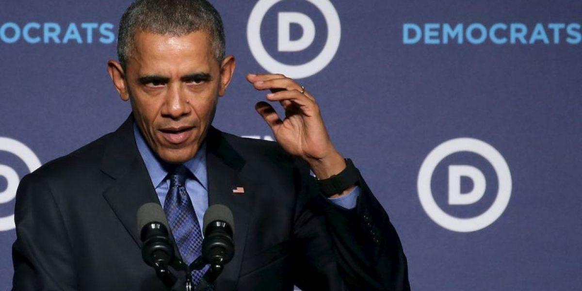 Obama compara a los republicanos con