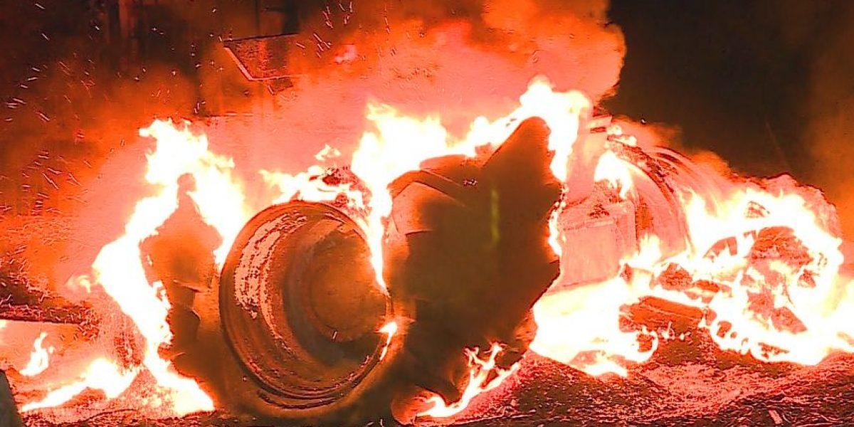 Nuevo atentado incendiario se registra en la Región de La Araucanía