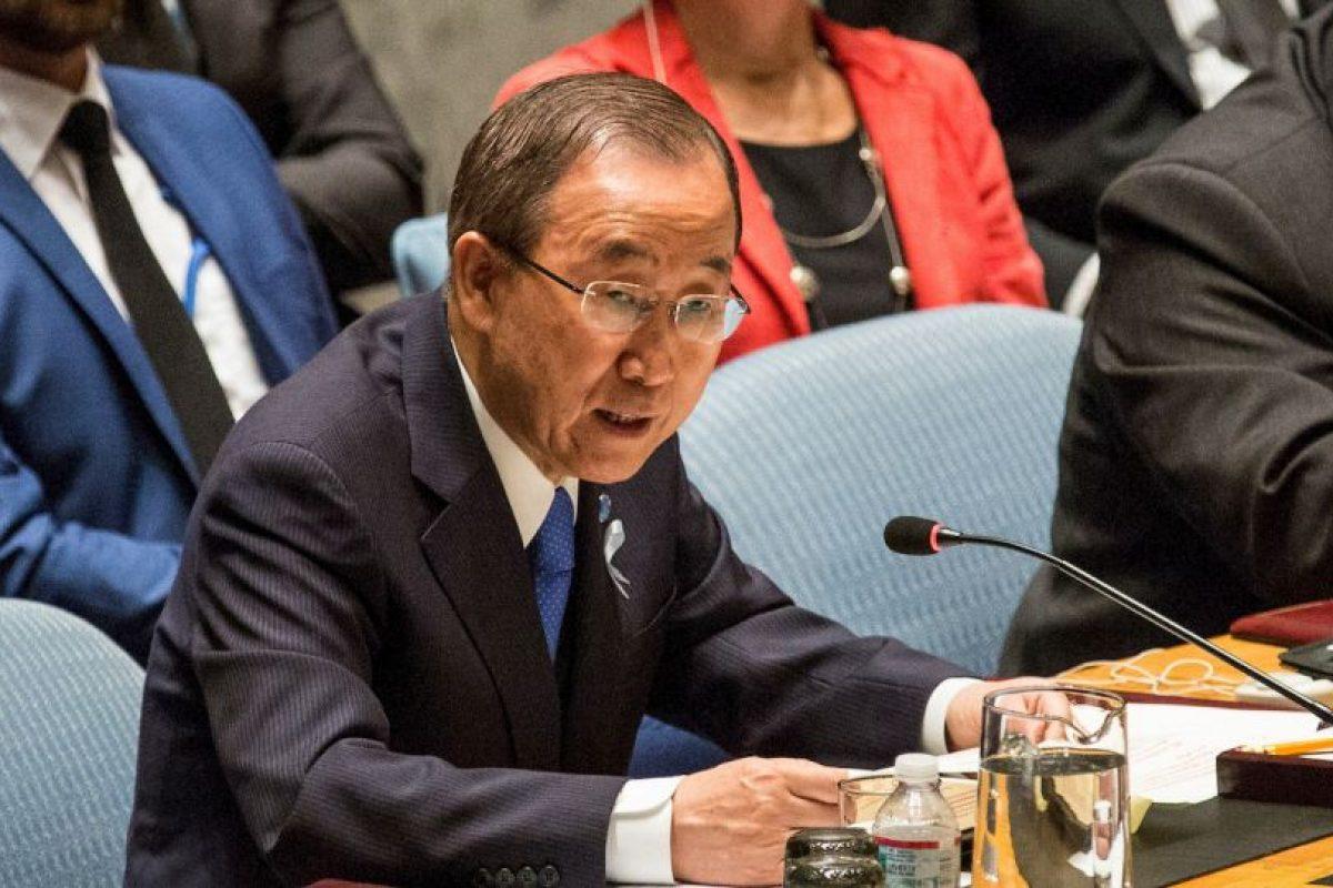 2. El actual Secretario General es Ban Ki-moon. Foto:Getty Images. Imagen Por: