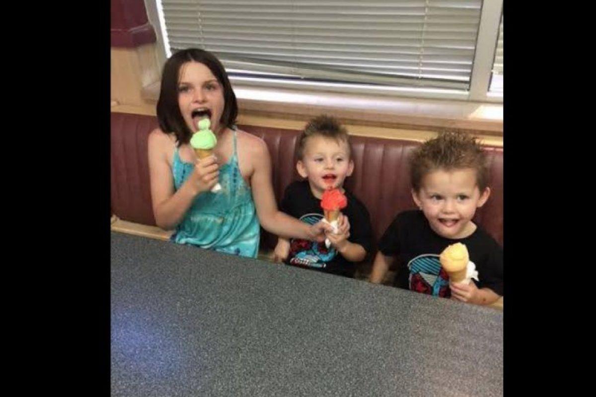 Ellos tienen apenas tres años. Foto:Vía facebook.com/taloa.foster. Imagen Por: