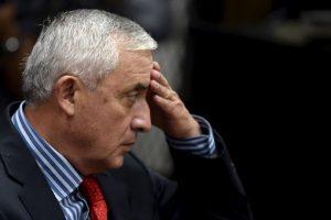 Fue el presidente número 48 de Guatemala. Foto:AFP. Imagen Por: