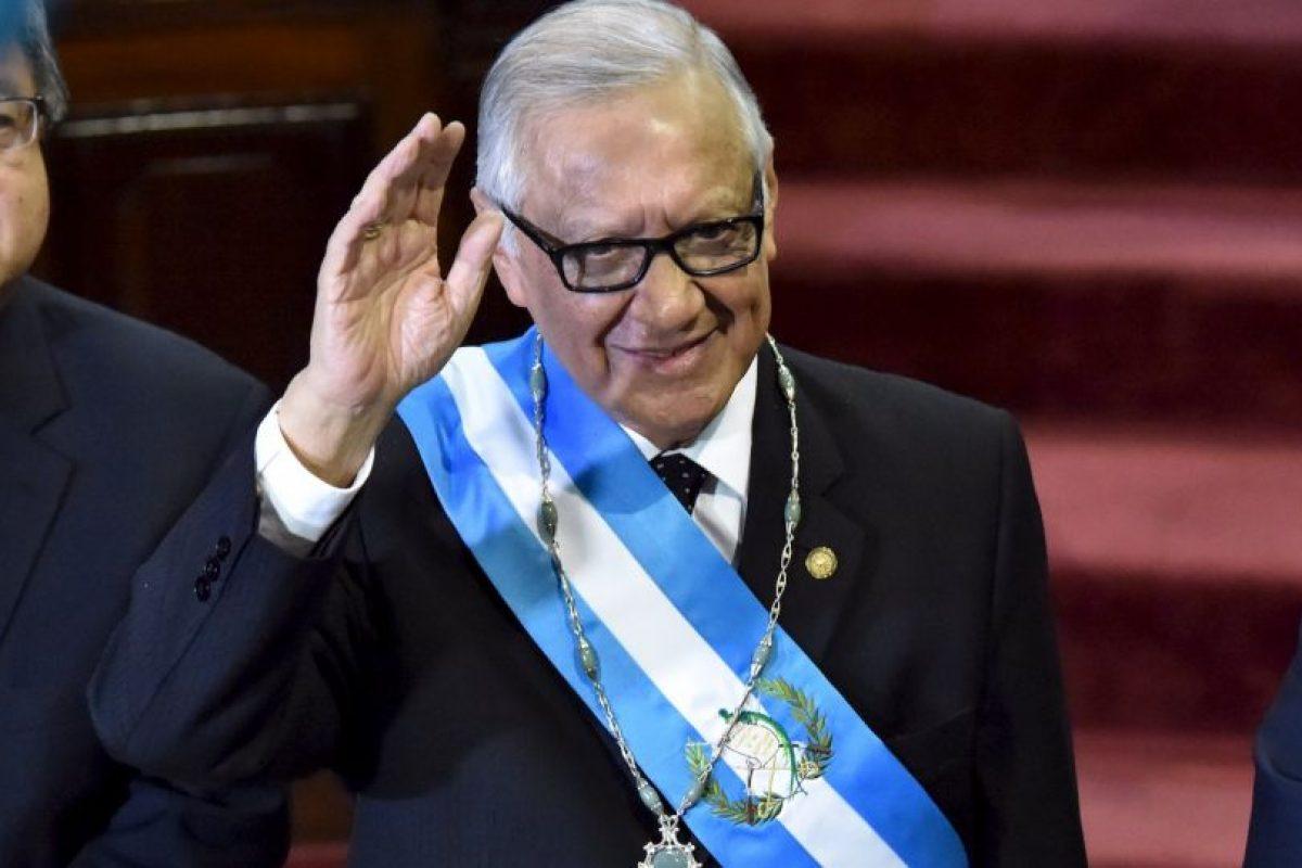 Fue remplazado por Alejandro Maldonado Aguirre Foto:AFP. Imagen Por:
