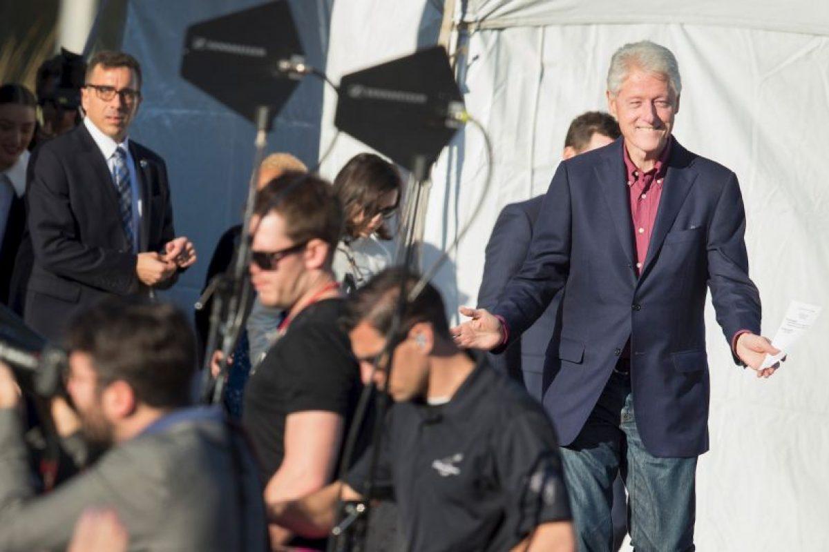 """Hizo una intervención de tan solo 15 minutos y bromeó con no extenderse más porque era la primera vez que hacía de """"telonero"""" de Kate Perry. Foto:AFP. Imagen Por:"""