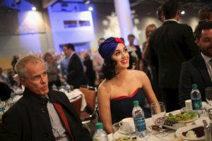 Luego de la presentación de la cantante hubo una cena con los seguidores democratas Foto:AFP. Imagen Por: