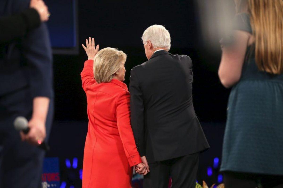 El apoyo del expresidente Clinton se notó Foto:AP. Imagen Por: