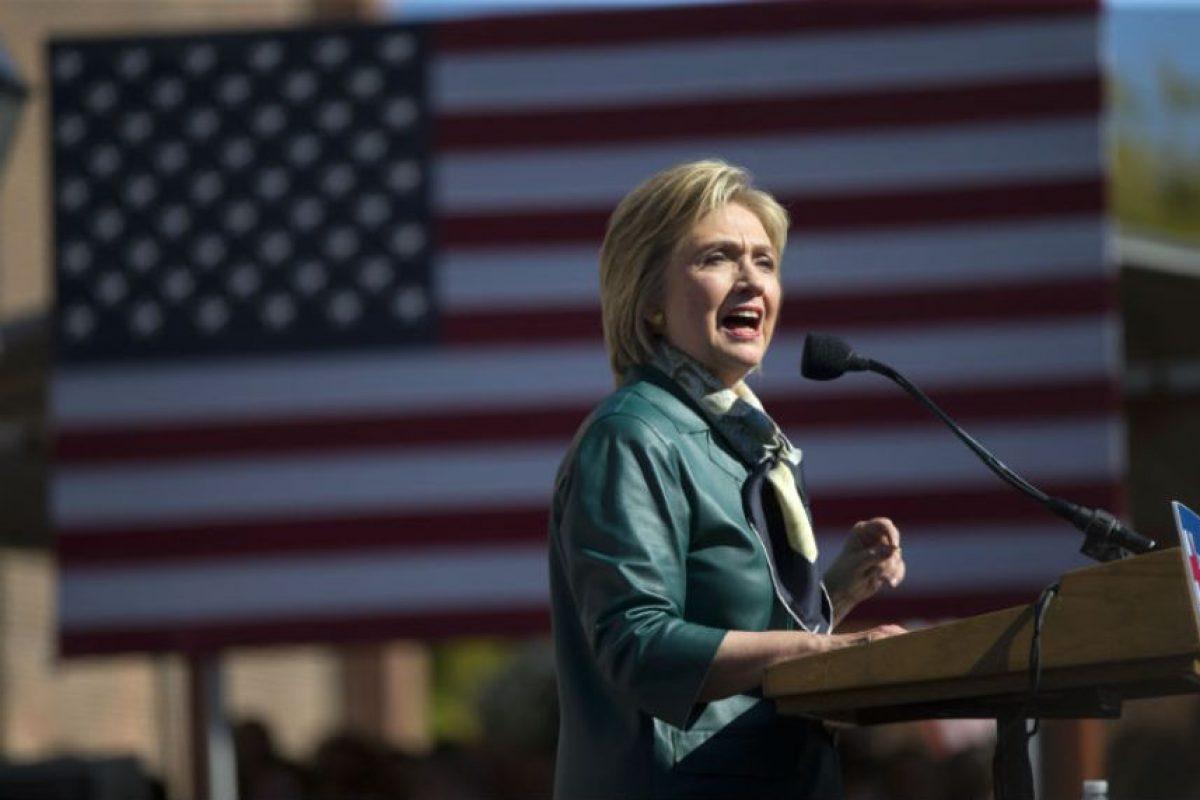 Hillary Clinton llevo su campaña al estado de Iowa, en Estados Unidos. Foto:AP. Imagen Por: