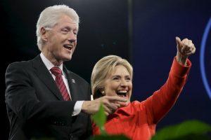 El concierto Perry también fue parte de la primera manifestación liderada por Bill Clinton en la campaña electoral de su mujer. Foto:AP. Imagen Por: