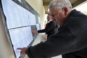 Los Kirchner acuden a emitir su voto Foto:AFP. Imagen Por: