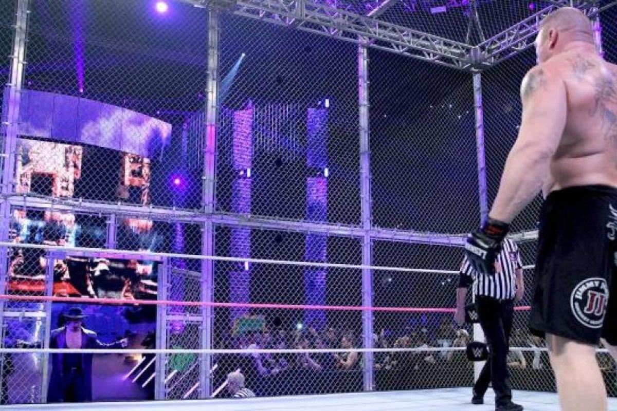 """""""Taker"""" enfrentó a Brock Lesnar en el pasado Pago por Ver Foto:WWE. Imagen Por:"""