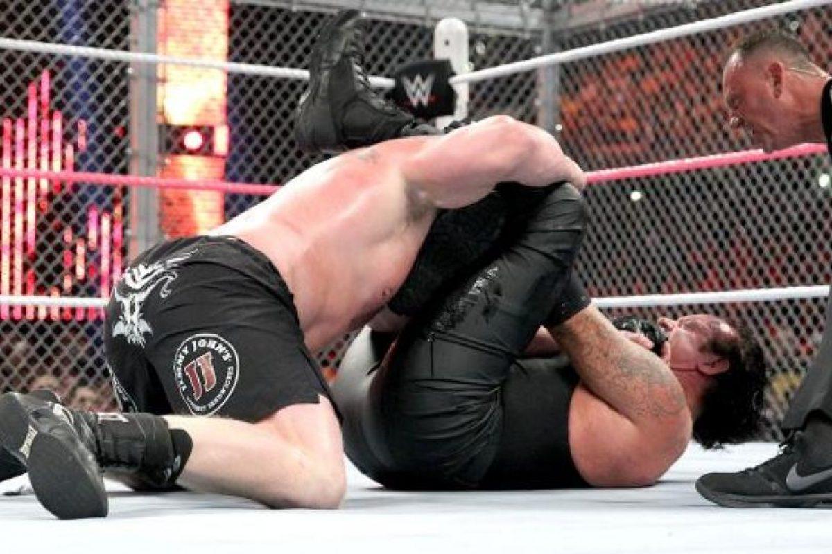 Mostraron sus mejores llaves y golpes Foto:WWE. Imagen Por: