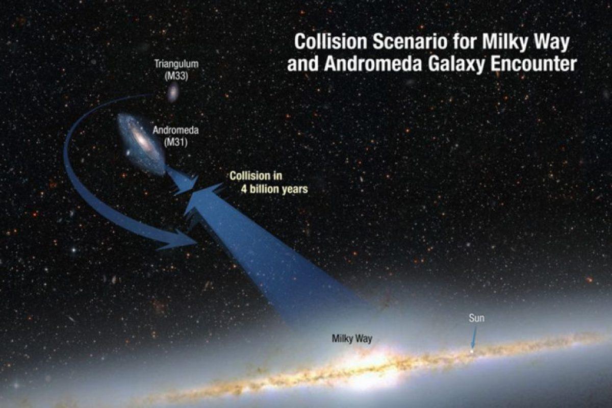 Se encuentra a 2.5 millones de años luz Foto:NASA. Imagen Por: