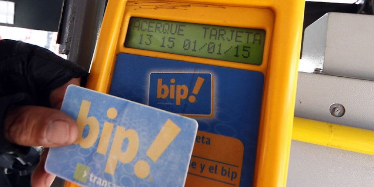 Proponen bip! desechable para disminuir evasión en Transantiago