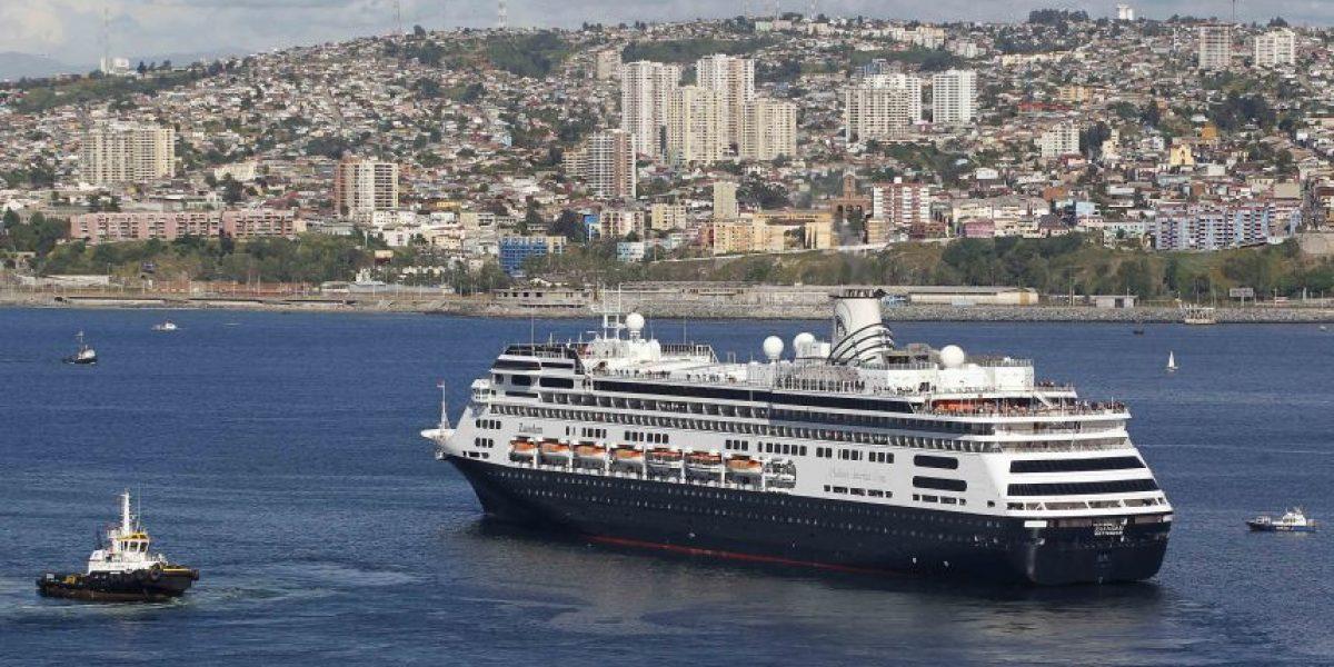 Valparaíso: Hoy se inició la temporada de cruceros 2015-2016