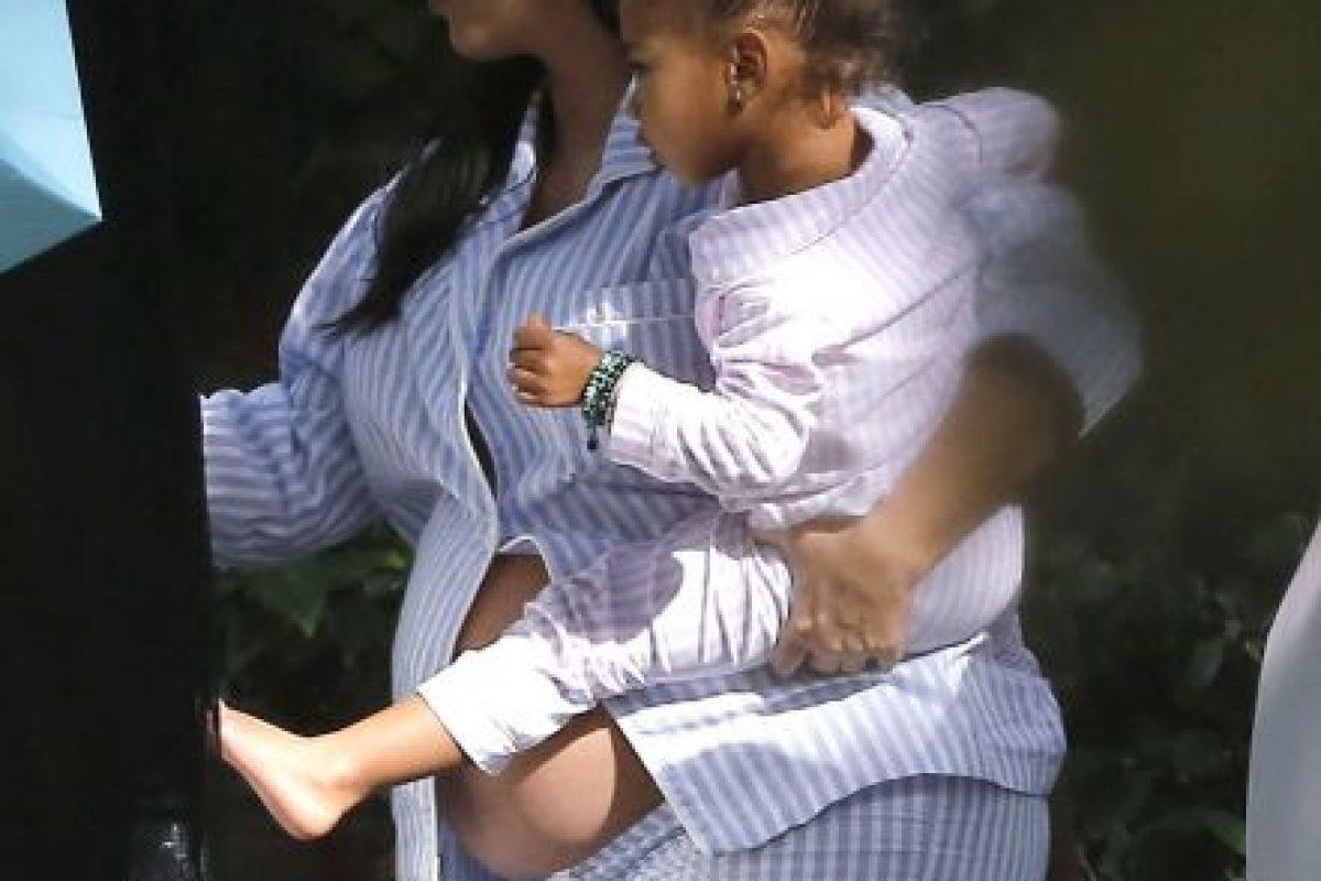 Kim Kardashian y North West Foto:Grosby Group. Imagen Por:
