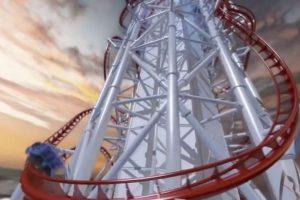 Tendrá una altura de 150 metros (500 pies) y una longitud de mil 600 metros (5,200 pies) Foto:Vía Youtube/animación. Imagen Por: