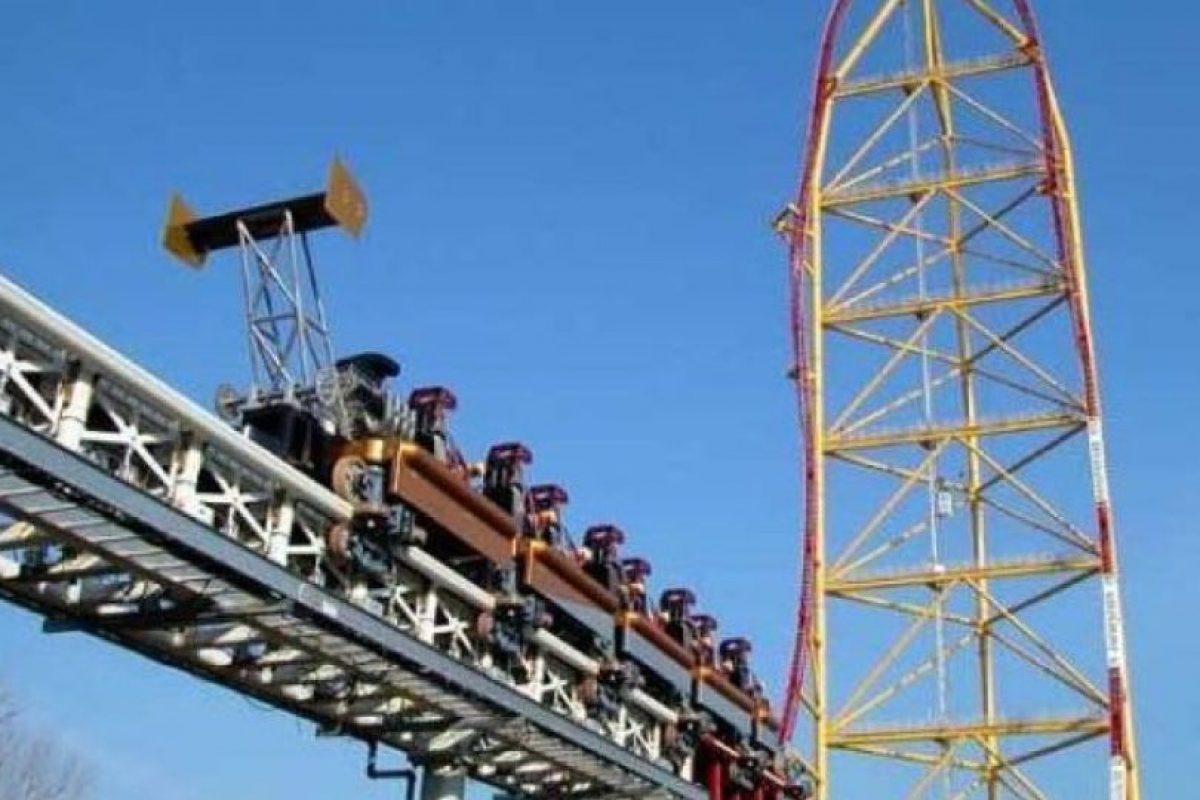 Top Thrill Dragster, Ohio, Estados Unidos Foto:Wikimedia. Imagen Por: