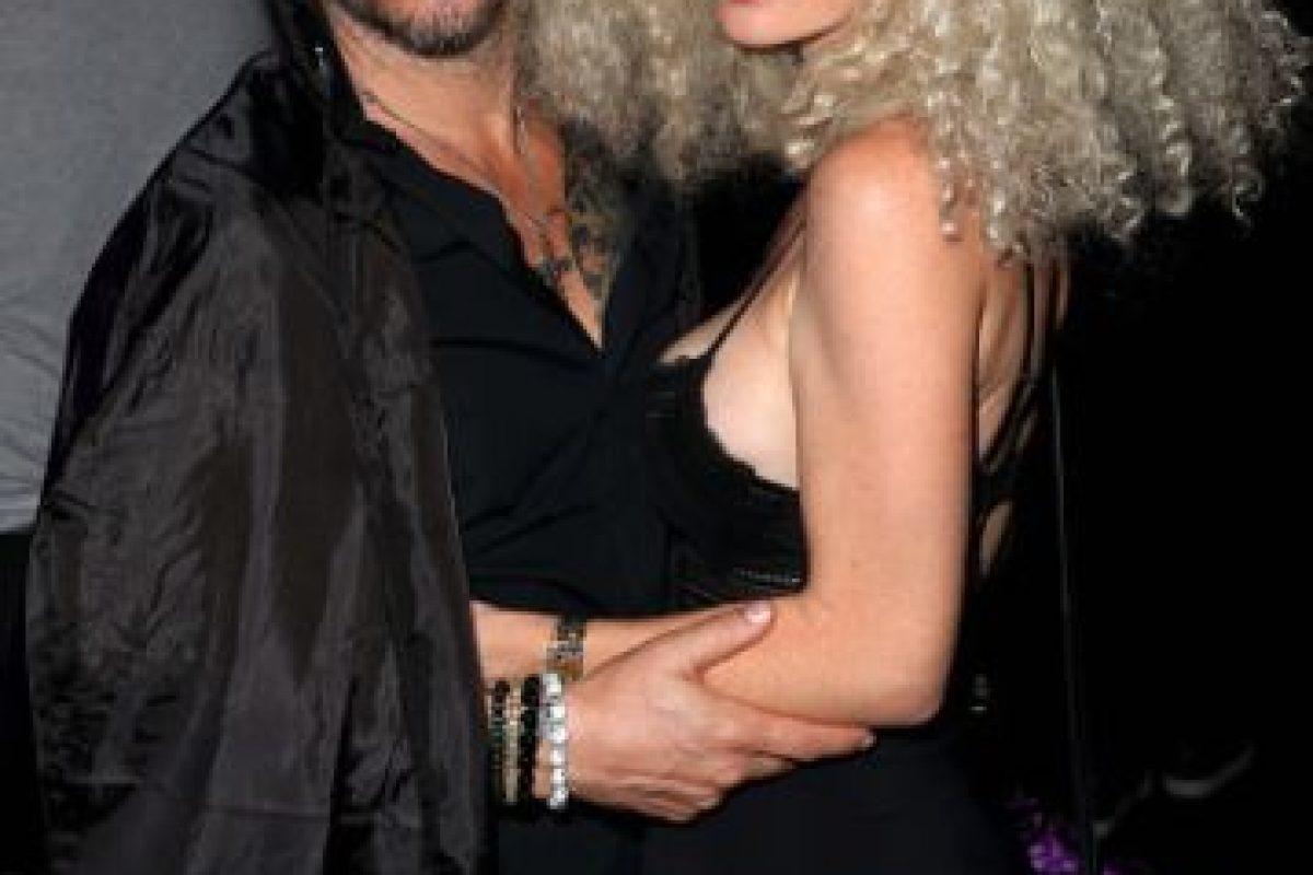 Todd Morse y la playmate Kim Phillips Foto:Getty Images. Imagen Por: