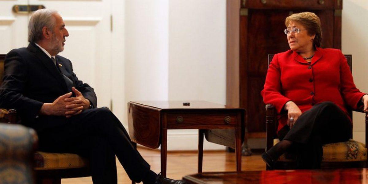 Esta es la primera reunión entre Bachelet y nuevo fiscal nacional