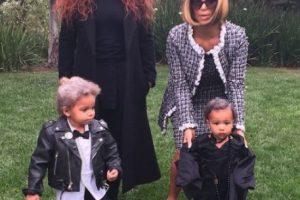 El pasado Halloween, Kim Kardashian sorprendió con su disfraz de la diseñadora Anna Wintour Foto:vía instagram.com/kimkardashian. Imagen Por: