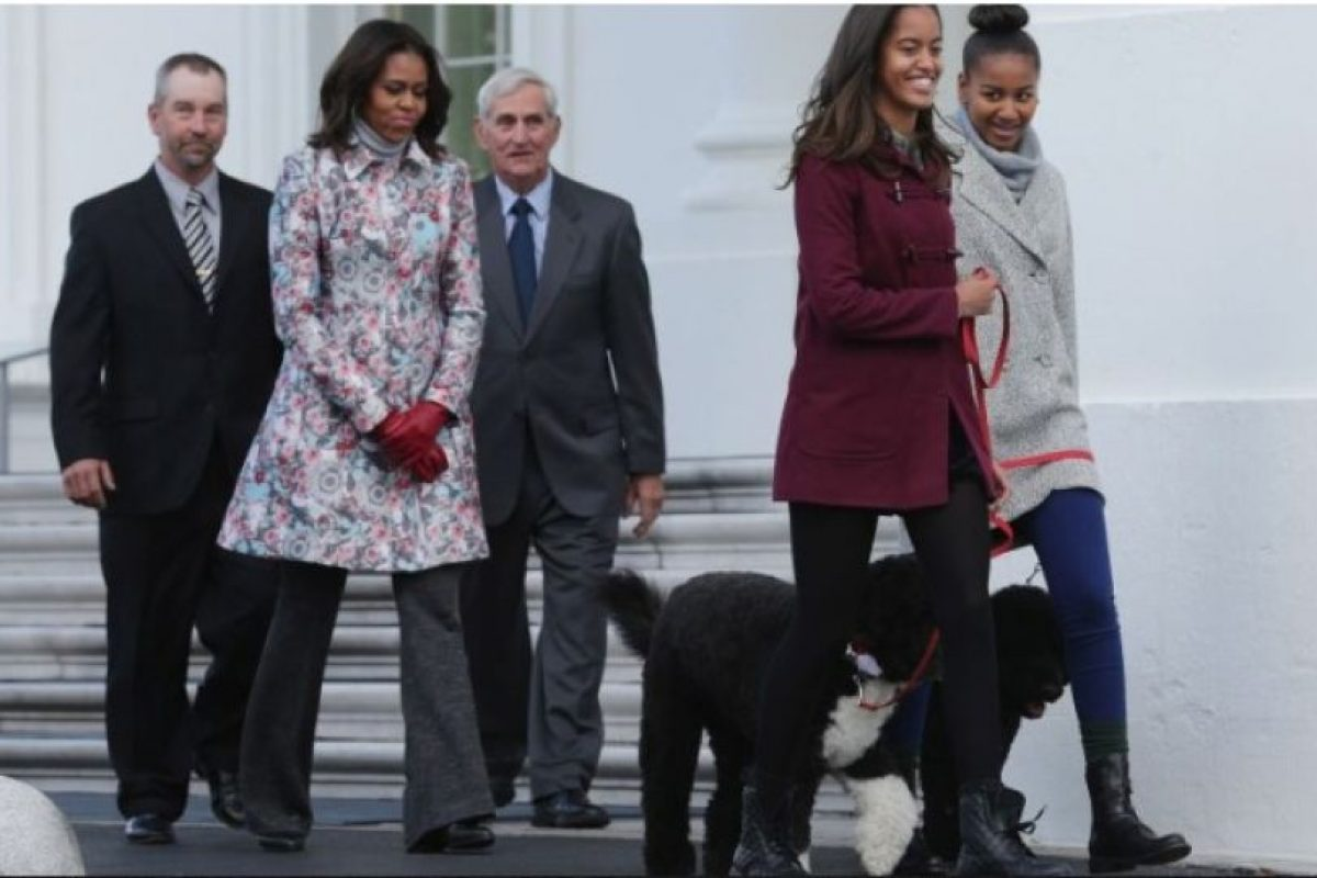 Familia Obama Foto:Getty Images. Imagen Por: