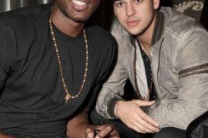 Lamar Odom y Rob Kardashian Foto:Instagram/khloekardashian. Imagen Por: