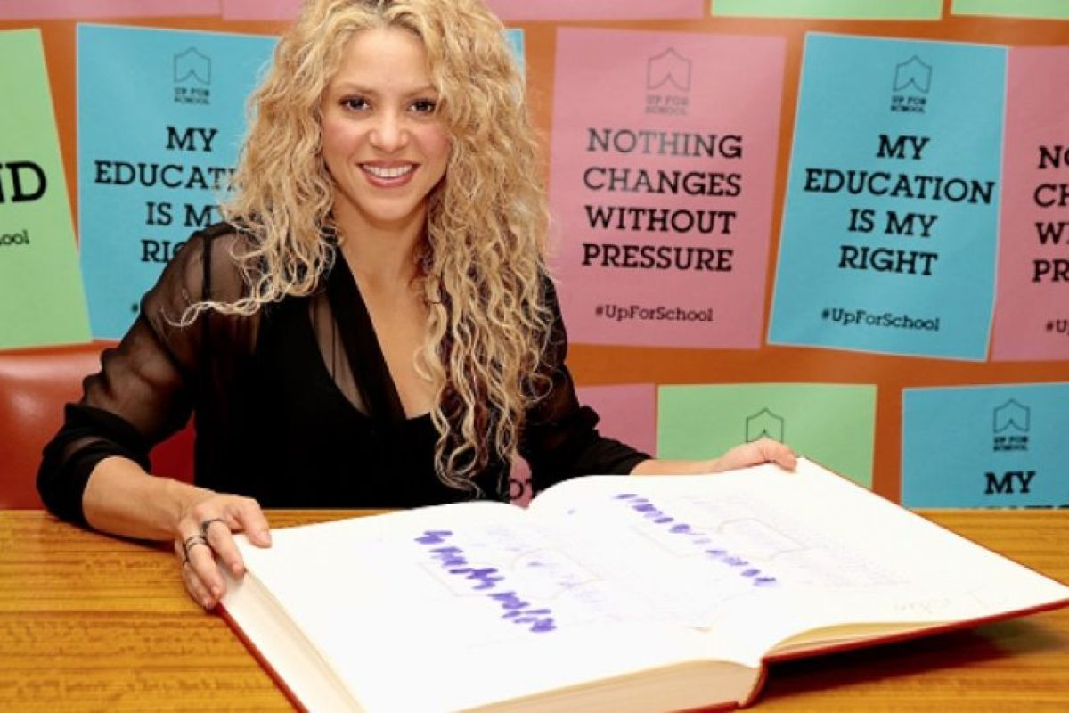 2. Shakira – 103 millones. Foto:Getty Images. Imagen Por: