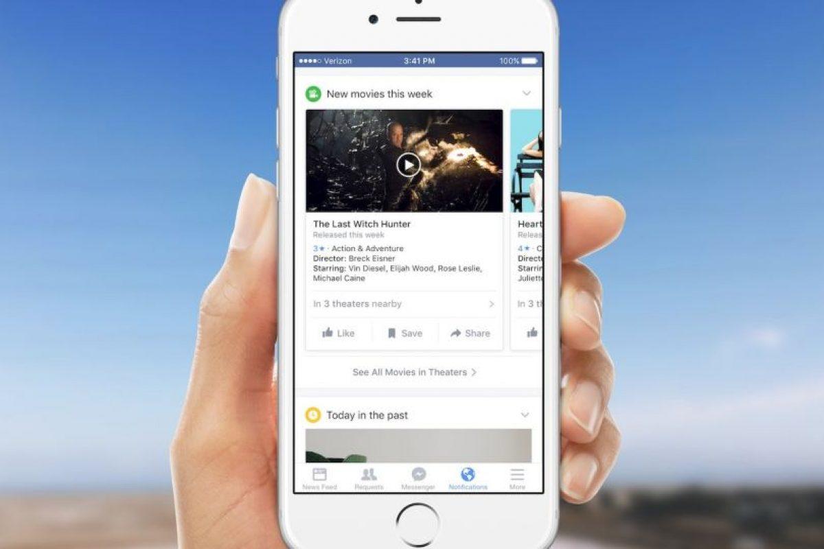 Facebook quiere que se enteren de todo lo que sucede a su alrededor. Foto:Facebook. Imagen Por: