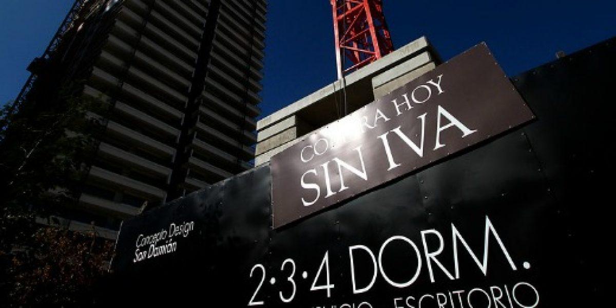 ¿Efecto IVA? Se dispara venta de viviendas en el Gran Santiago