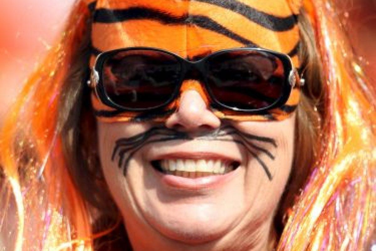 """Este """"tigre"""" también. Foto:Getty Images. Imagen Por:"""