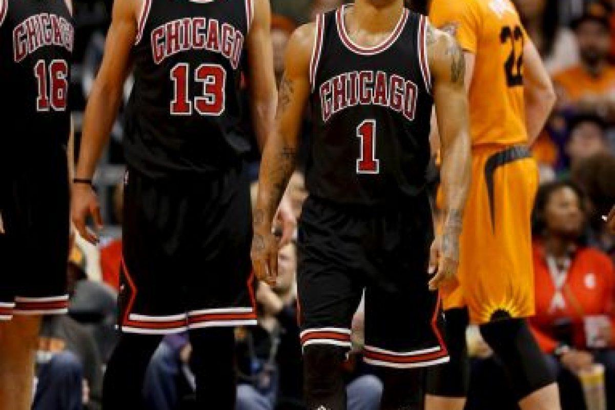 Rose espera llegar sano al inicio de temporada y no lesionarse durante el torneo para guiar a los Bulls a un título que no ganan desde la salida de Michael Jordan Foto:Getty Images. Imagen Por: