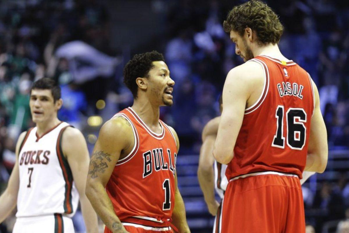 6. Una nueva oportunidad de birllar para Derrick Rose y los Bulls Foto:Getty Images. Imagen Por: