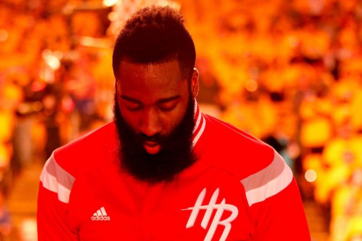 James Harden (Houston Rockets) Foto:Getty images. Imagen Por:
