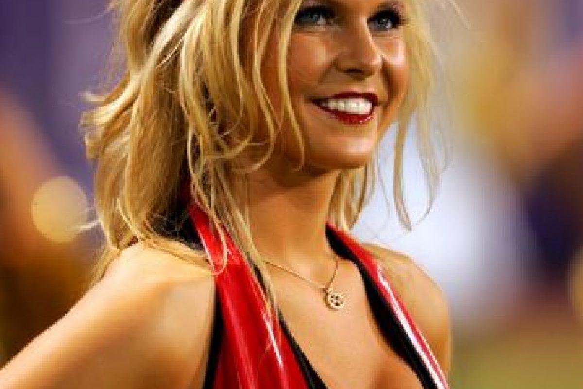 Una guapa porrista de los Vikings de Minnesota. Foto:Getty Images. Imagen Por: