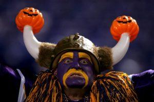 """El """"Vikingo"""" más terrorífico de la NFL. Foto:Getty Images. Imagen Por:"""