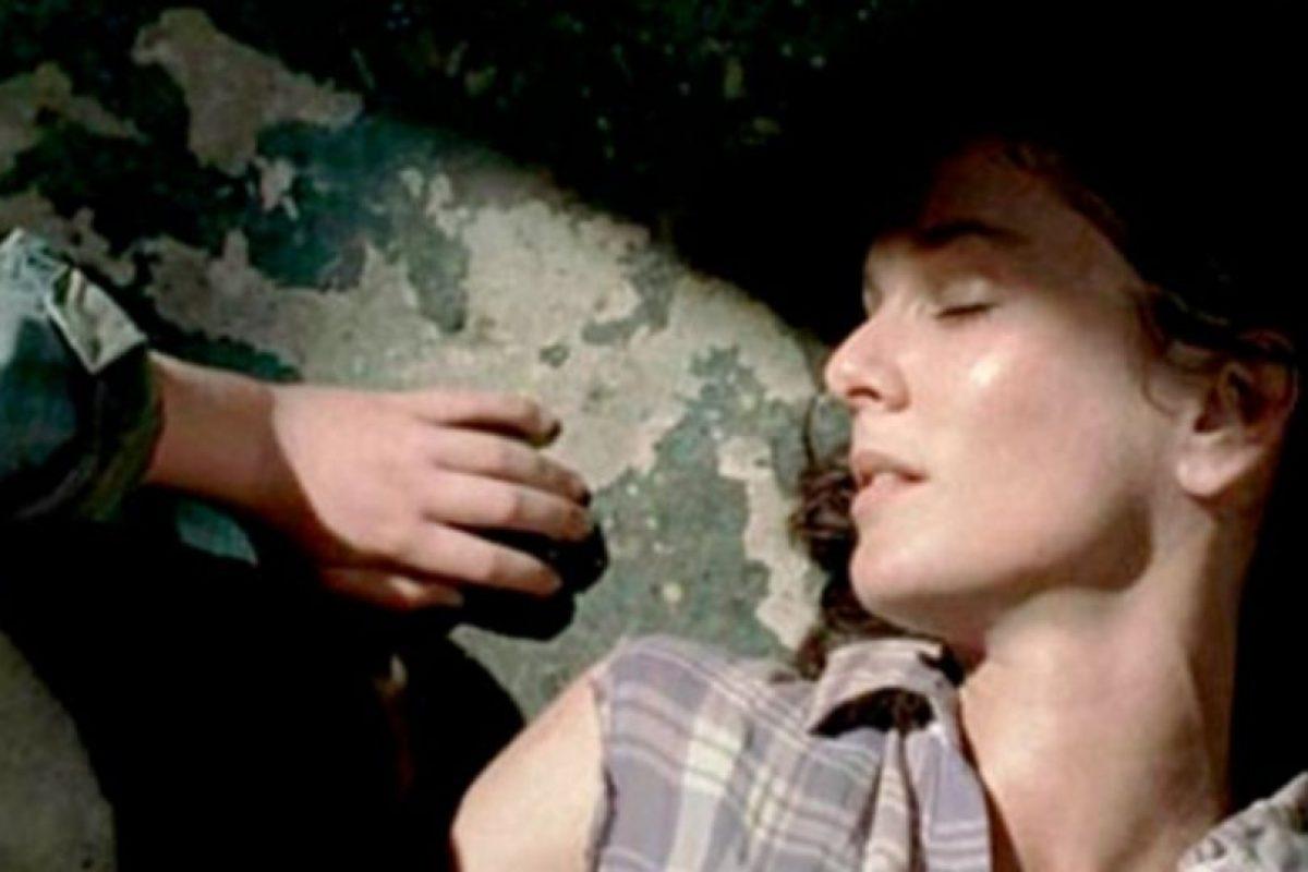 Murió cuando dio a luz a su hija menor Judith, Carl fue el encargado de disparar en su cabeza Foto:AMC. Imagen Por: