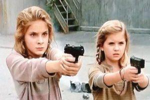 Las hermanas huérfanas que durante la cuarta temporada quedan al cuidado momentáneo de Tyreese y Carol Foto:AMC. Imagen Por: