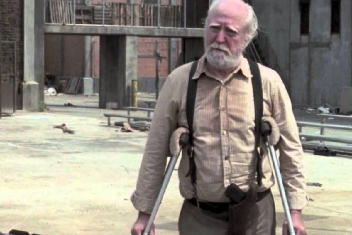 """Hershel"" Foto:AMC. Imagen Por:"