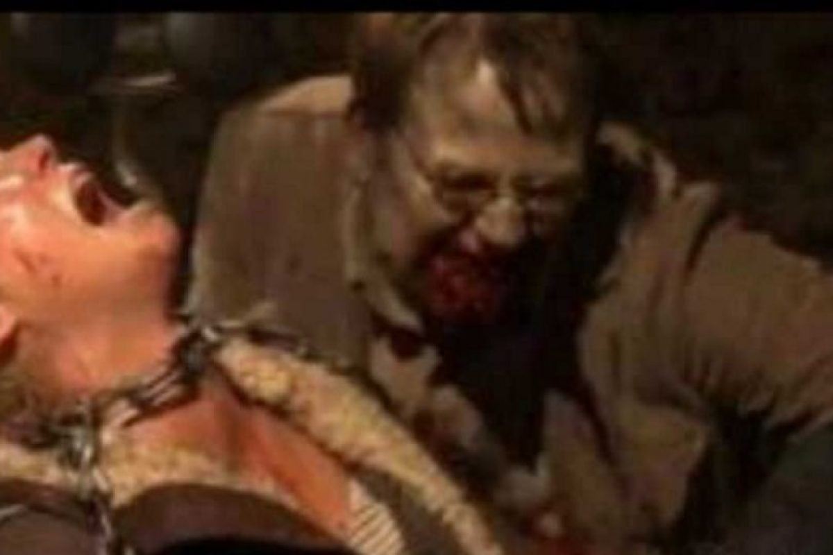 """""""El Gobernador"""" encerró a Andrea junto a un moribundo Milton que acabaría convertido en caminante y mordiéndola Foto:AMC. Imagen Por:"""