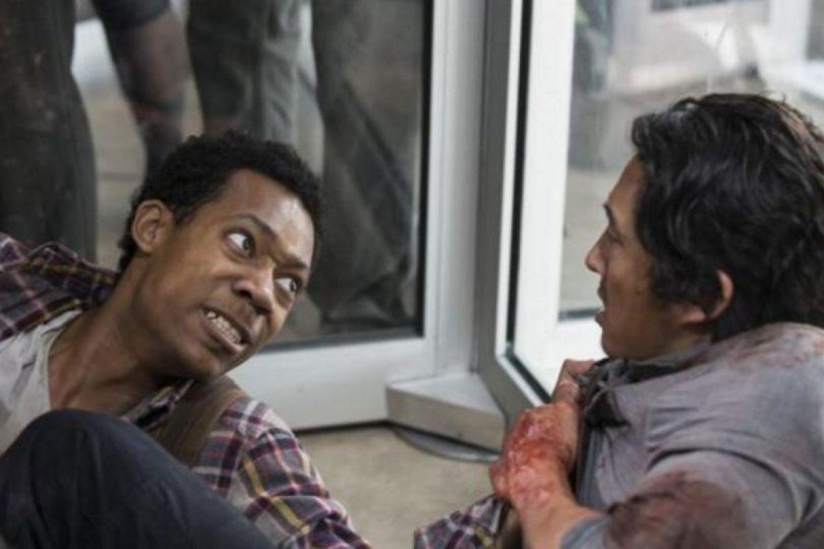 """Quizá la muerte más brutal y sangrienta de """"The Walking Dead"""". Foto:AMC. Imagen Por:"""
