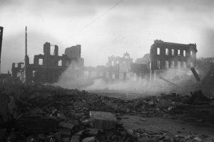 Daños en Valparaiso, terremoto de 1906. Foto:Fotos Históricas de Chile. Imagen Por: