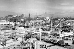FISA, Feria Internacional de Santiago en 1962. Foto:Fotos Históricas de Chile. Imagen Por: