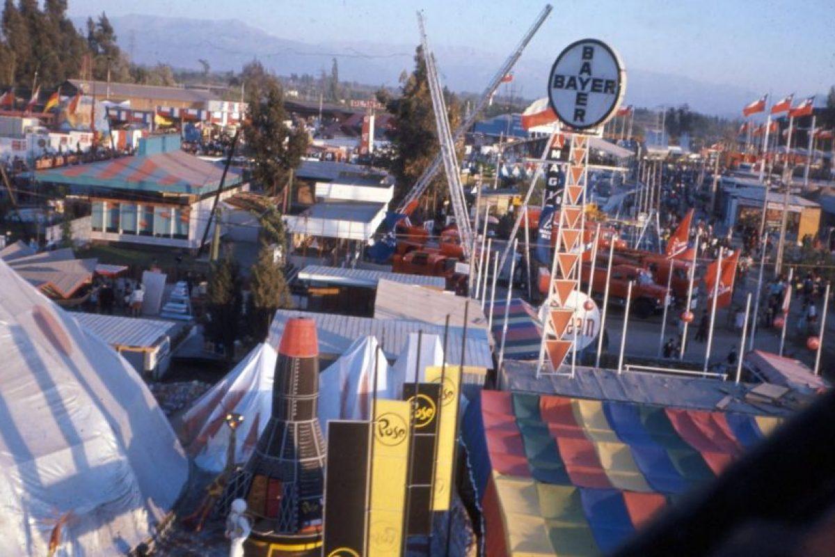 Feria Internacional de Santiago en el Parque Cerrillos de Maipú, principios de los 80. Foto:Fotos Históricas de Chile. Imagen Por: